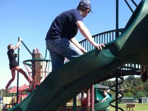 TJ Rainier park tag